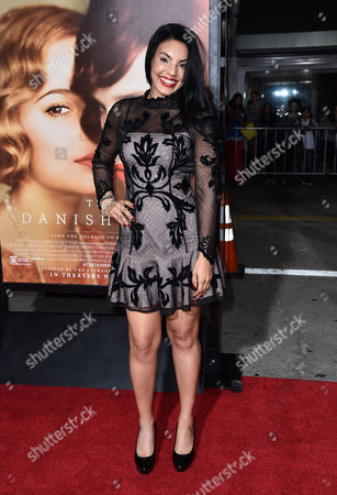 """Tilda Del Toro arrives at the premiere of """"The Danish Girl"""" at Regency Village Theatre on in Los Angeles"""