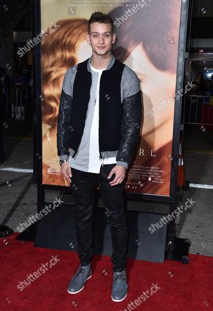 """Cody Saintgnue arrives at the premiere of """"The Danish Girl"""" at Regency Village Theatre on in Los Angeles"""