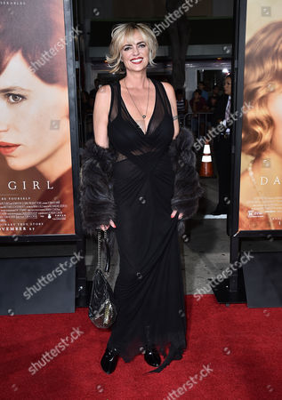 """Michelle Johnson arrives at the premiere of """"The Danish Girl"""" at Regency Village Theatre on in Los Angeles"""