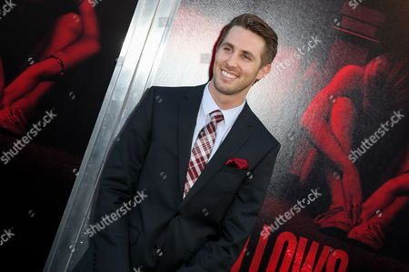 "Ryan Shoos arrives at the LA Premiere of ""The Gallows"" at Hollywood High School on in Los Angeles"