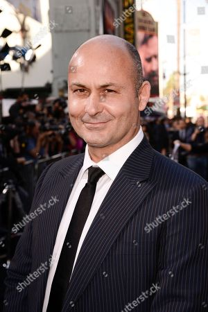 """Actor Steve Bastoni attends the premiere of the feature film """"The Water Diviner"""" in Los Angeles on"""