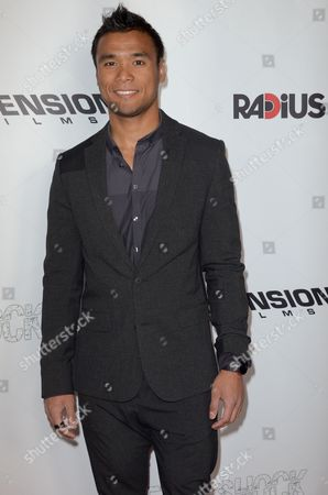 """Marvin Estrellado arrives at the LA Premiere of """"Aftershock"""" at the Chinese 6 Theatres on in Los Angeles"""