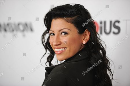 """Stock Picture of Vanessa Born arrives at the LA Premiere of """"Aftershock"""" at the Chinese 6 Theatres on in Los Angeles"""