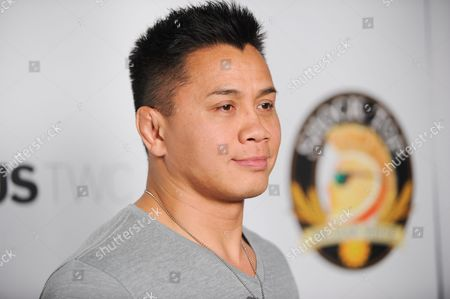 "Stock Image of Cung Le arrives at the LA Premiere of ""Aftershock"" at the Chinese 6 Theatres on in Los Angeles"
