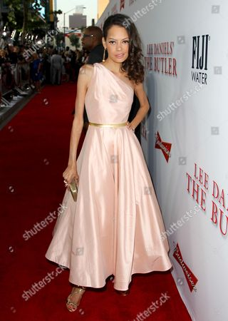 """Keisha Nash Whitaker arrives at the Los Angeles premiere of """"Lee Daniels' The Butler"""" at the Regal Cinemas L.A. Live Stadium 14 on"""