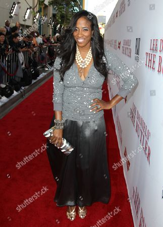 """Shondrella Avery arrives at the Los Angeles premiere of """"Lee Daniels' The Butler"""" at the Regal Cinemas L.A. Live Stadium 14 on"""