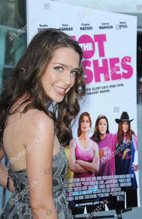 "Stock Picture of Jessica Rothenberg arrives at the LA premiere of ""The Hot Flashes"" at the ArcLight Hollywood on in Los Angeles"