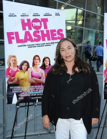 """Stock Photo of Susan Seidelman arrives at the LA premiere of """"The Hot Flashes"""" at the ArcLight Hollywood on in Los Angeles. The Hot Flashes premiere will also serve as a benefit for its official charity partner, the American Cancer Society"""