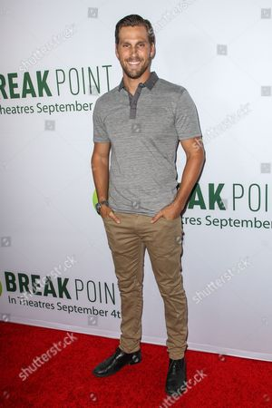 Brad Benedict attends a special screening of 'Break Point' at the TCL Chinese 6 Theatres on in Los Angeles