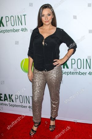 Rachel Ann Mullins attends a special screening of 'Break Point' at the TCL Chinese 6 Theatres on in Los Angeles