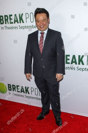 Rex Lee attends a special screening of 'Break Point' at the TCL Chinese 6 Theatres on in Los Angeles