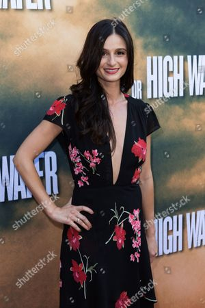 """Stock Photo of Melanie Papalia arrives at the special screening of """"Hell or High Water"""" at the Arclight Hollywood, in Los Angeles"""