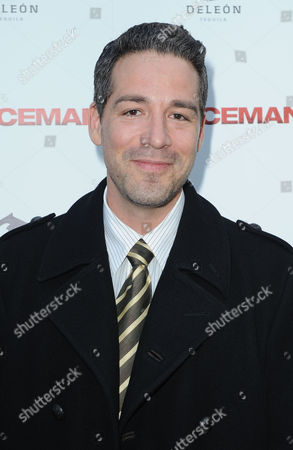 "Hector Hank arrives at the LA Special Screening of ""The Iceman"" at the ArcLight Hollywood Theater on in Hollywood, Calif"