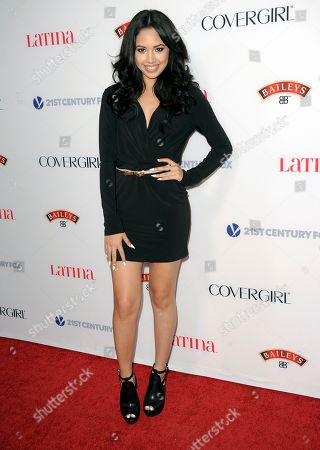 Jasmine Villegas arrives at the Latina Magazine's Hot Hollywood List event at The Redbury Hotel on in Los Angeles