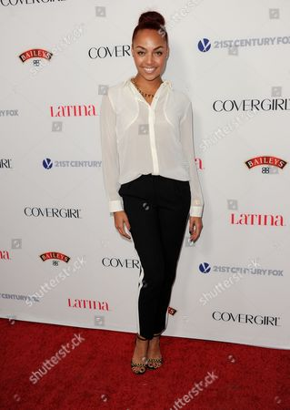 Ashley Everett arrives at the Latina Magazine's Hot Hollywood List event at The Redbury Hotel on in Los Angeles