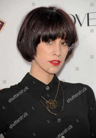 Devin Star Tailes arrives at the Latina Magazine's Hot Hollywood List event at The Redbury Hotel on in Los Angeles