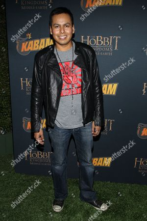 Actor Jeremiah Bitsui arrives at 'The Hobbit: The Desolation Of Smaug Expansion Pack' launch party at Eveleigh on in West Hollywood, Calif