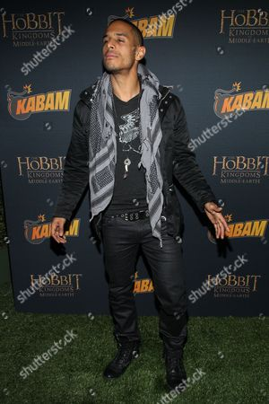 Actor Travis Winfrey arrives at 'The Hobbit: The Desolation Of Smaug Expansion Pack' launch party at Eveleigh on in West Hollywood, Calif