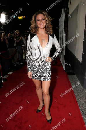 Alexis Carra attends the 14th annual 'Les Girls' arrivals at Avalon on in Hollywood, California