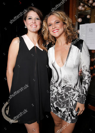 Nicole Parker and Alexis Carra backstage at the 14th annual 'Les Girls' at Avalon on in Hollywood, California