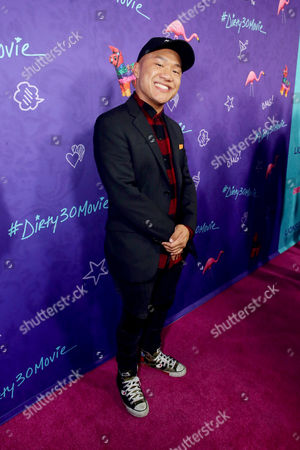 "Timothy DeLaGhetto seen at Lionsgate Premiere of ""Dirty 30"" at ArcLight Cinemas, in Los Angeles"