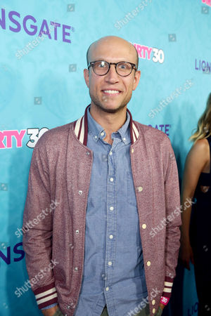 """Adam Lustick seen at Lionsgate Premiere of """"Dirty 30"""" at ArcLight Cinemas, in Los Angeles"""