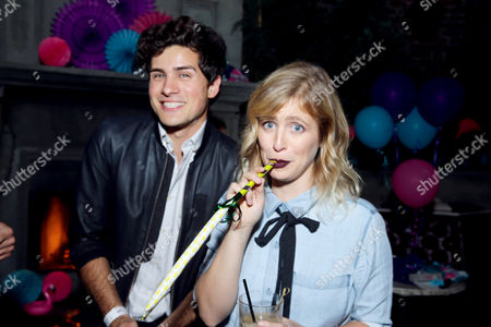 "Anthony Padilla and Miel seen at Lionsgate Premiere of ""Dirty 30"" after party at ArcLight Cinemas, in Los Angeles"