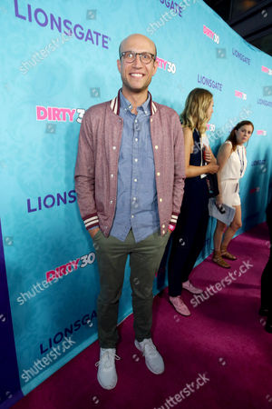 """Stock Picture of Adam Lustick seen at Lionsgate Premiere of """"Dirty 30"""" at ArcLight Cinemas, in Los Angeles"""