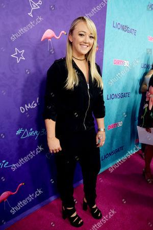 "Meghan McCarthy seen at Lionsgate Premiere of ""Dirty 30"" at ArcLight Cinemas, in Los Angeles"