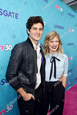 """Anthony Padilla and Miel seen at Lionsgate Premiere of """"Dirty 30"""" at ArcLight Cinemas, in Los Angeles"""