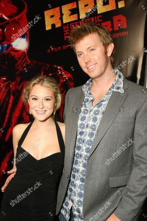 NOVEMBER 06: Alexa Vega and Sean Covel at Lionsgate Premiere of 'Repo! The Genetic Opera' on at Planet Hollywood Resort & Casino, NV