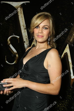OCTOBER 21: Samantha Lemole at Lionsgate's Special Screening of 'Saw V' on at the Mann's Chinese Six in Los Angeles, CA