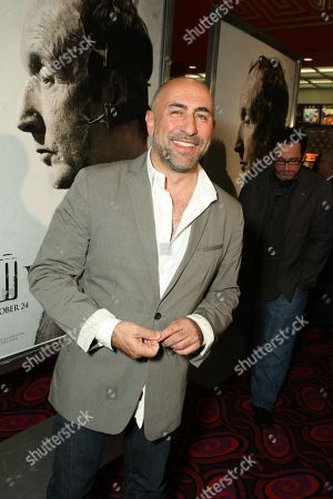 OCTOBER 21: Carlo Rota at Lionsgate's Special Screening of 'Saw V' on at the Mann's Chinese Six in Los Angeles, CA