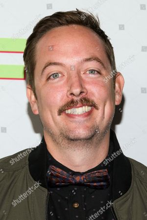 """Stock Photo of Chris Wylde attends the Los Angeles Fan Screening of """"The Duff"""", in Hollywood, Calif"""