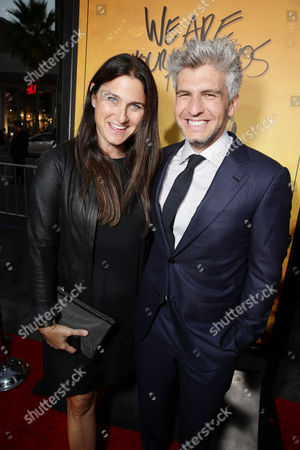 Producer Liza Chasin and Director/Co-Writer Max Joseph seen at Los Angeles Premiere of Warner Bros. â?˜We Are Your Friends' at TCL Chinese Theatre, in Hollywood, CA