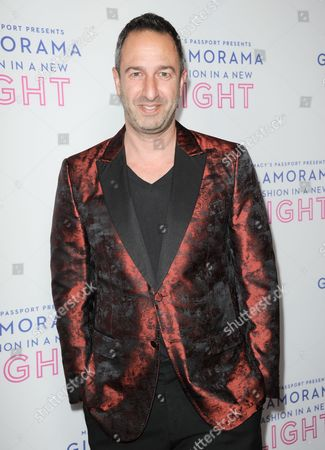 Christos Garkinos arrives at the Macy's Passport's Glamorama at The Orpheum Theatre on in Los Angeles