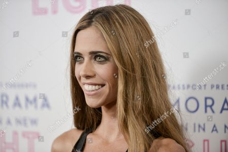 Lydia McLaughlin arrives at the Macy's Passport's Glamorama at The Orpheum Theatre on in Los Angeles