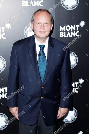 CEO of Montblanc North America Jan Patrick Schmitz attends Montblanc de la Culture Arts Patronage Award honoring Quincy Jones at Chateau Marmont, in Los Angeles