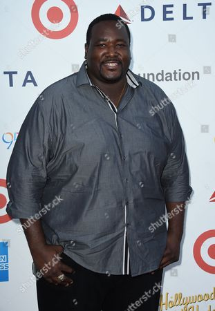 """Quinton Aaron arrives at MPTF's 95th Anniversary Celebration """"Hollywood's Night Under The Stars"""" on in Woodland Hills, Calif"""