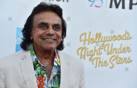 """Johnny Mathis arrives at MPTF's 95th Anniversary Celebration """"Hollywood's Night Under The Stars"""" on in Woodland Hills, Calif"""