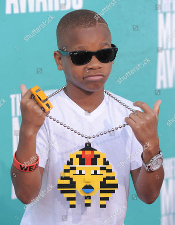 Lil Niqo arrives at the MTV Movie Awards on in Los Angeles