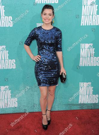 Alex Frnka arrives at the MTV Movie Awards on in Los Angeles