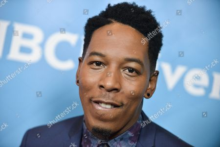 Stock Image of Deitrick Haddon attends the NBC 2014 Summer TCA held at the Beverly Hilton Hotel, in Beverly Hills, Calif