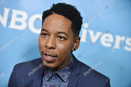 Stock Photo of Deitrick Haddon attends the NBC 2014 Summer TCA held at the Beverly Hilton Hotel, in Beverly Hills, Calif