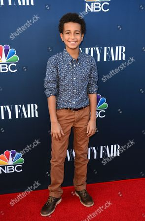 Tyree Brown arrives at NBC And Vanity Fair's 2014 - 2015 TV Season Event at Hyde Sunset Kitchen, in Los Angeles