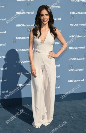 Sandra Echeverria attends the NBCUniversal 2016 Upfront Presentation at Radio City Music Hall, in New York