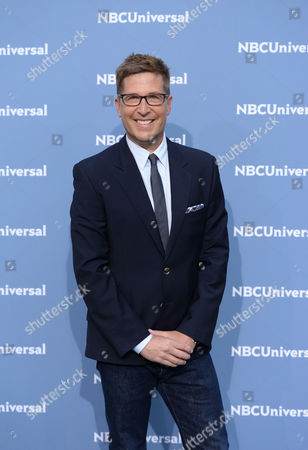 Spike Feresten attends the NBCUniversal 2016 Upfront Presentation at Radio City Music Hall, in New York