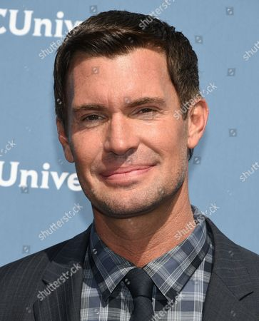 Jeff Lewis attends the NBCUniversal 2016 Upfront Presentation at Radio City Music Hall, in New York
