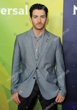 Teddy Forance attends the second day of NBCUniversal's 2012 Summer Press Tour at the Beverly Hilton Hotel, in Beverly Hills, Calif