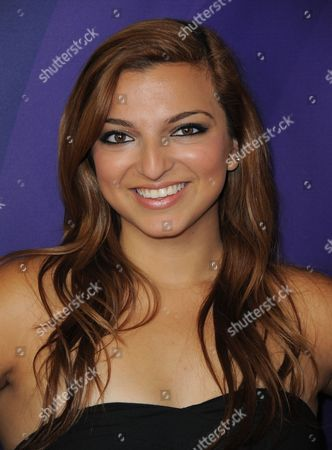 Stock Photo of Aylin Bayramuglu attends the second day of NBCUniversal's 2012 Summer Press Tour at the Beverly Hilton Hotel, in Beverly Hills, Calif